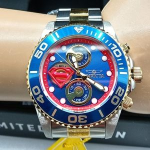 FIRM PRICE-INVICTA LIMITED EDITION SUPERMAN WATCH